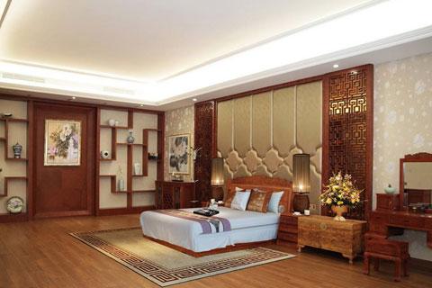 现代中式风格别墅室内设计效果图图片大全