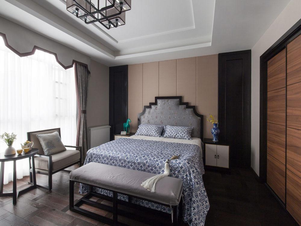 400平方米的新中式别墅装修效果图设计方案