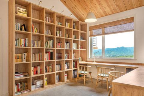 北京民宿室内空间中式风格设计装修效果图