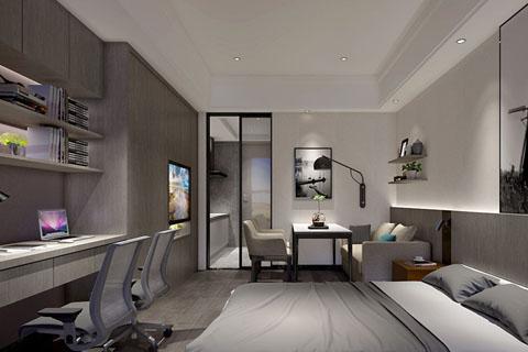 古典新中式卧室设计装修效果图