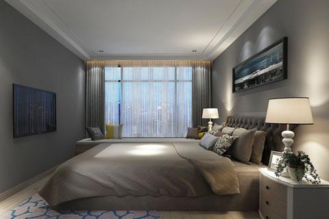 简约古典装修设计卧室效果图