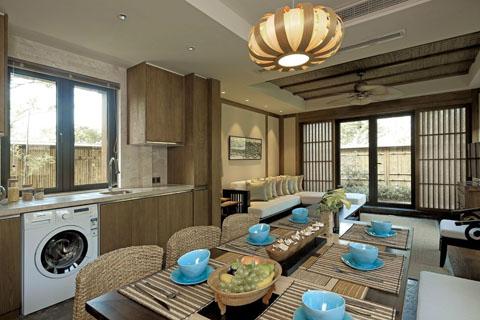木质古典客厅,卧室,茶室,大厅,家装装修效果图