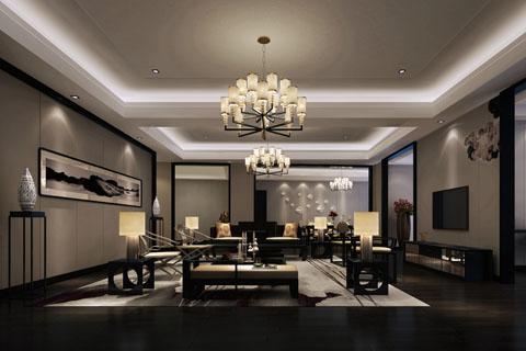 2019年各种风格中式客厅装修效果图