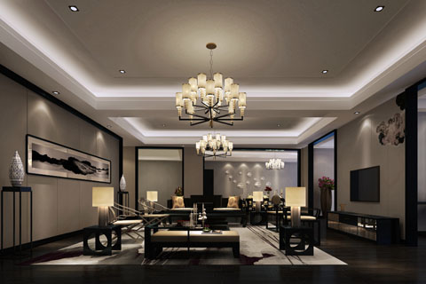 中式家装装修效果图