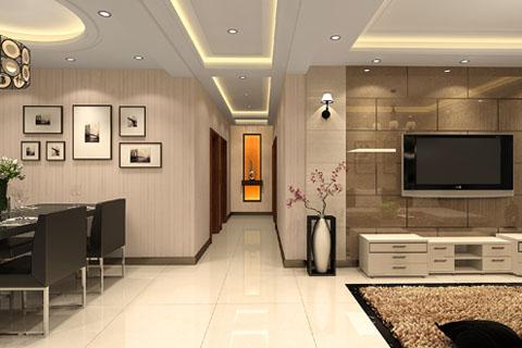 新中式别墅客厅、卧室、餐厅等完整方案高清效果图