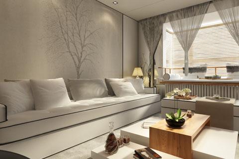 简易中式家装装修效果图