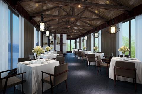 酒店大堂、餐厅、卧室等古典中式装修设计效果图