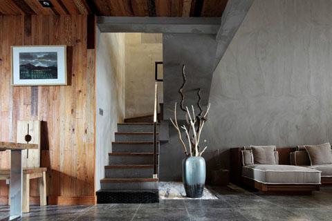 南京560平古典简约中式会所纯木装修设计效果图