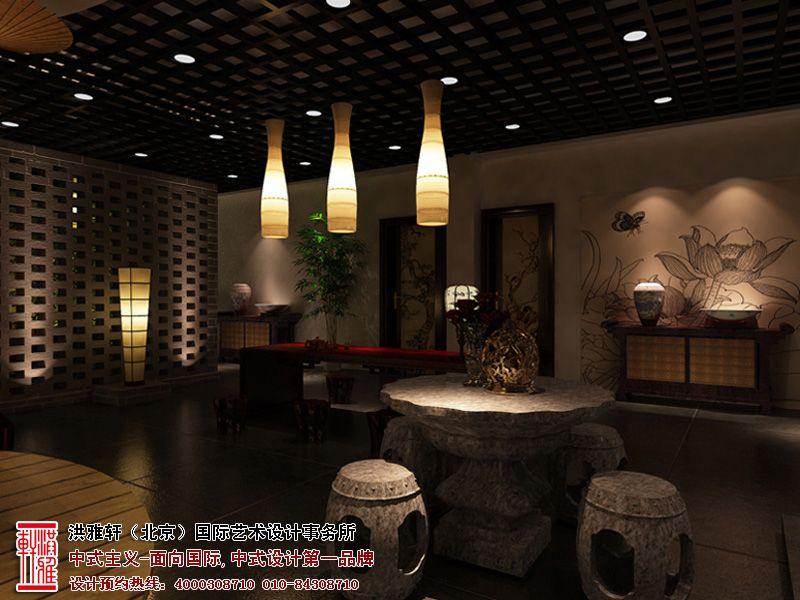 北京中式茶楼装修效果图
