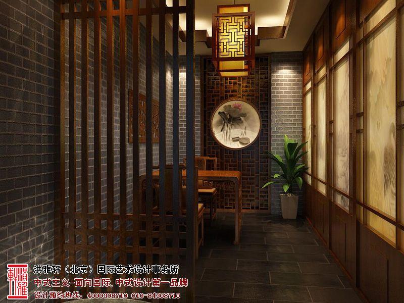 清幽典雅的長春茶樓裝修設計效果圖