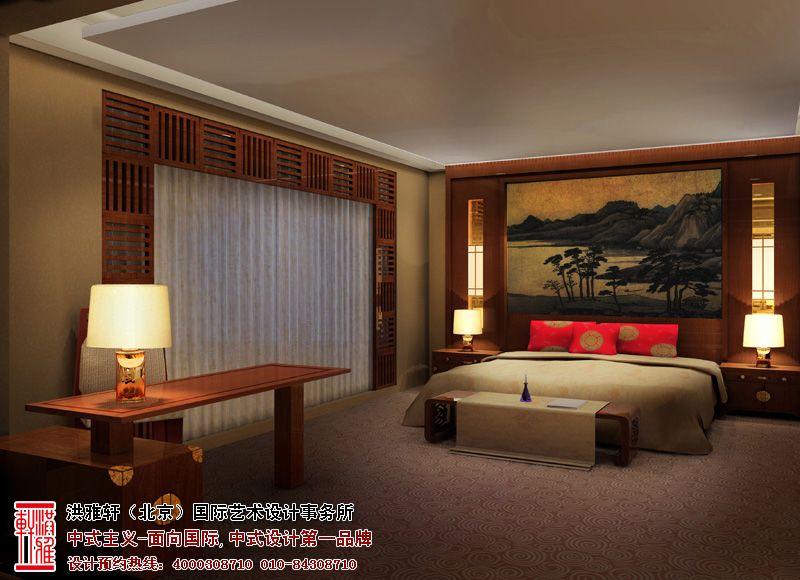 奢华时尚的北京古典酒店中式装修效果图