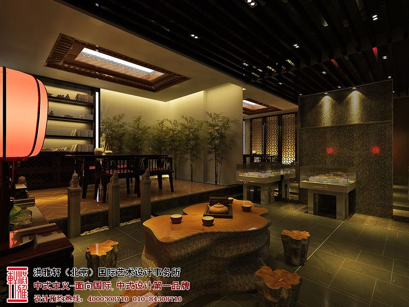 的北京建材商贸展厅设计效果图