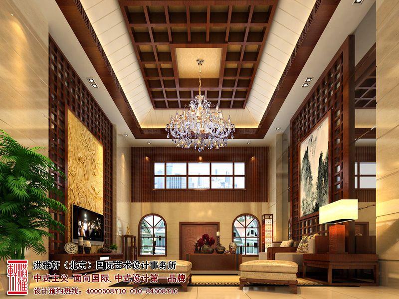 现代别墅中式装修