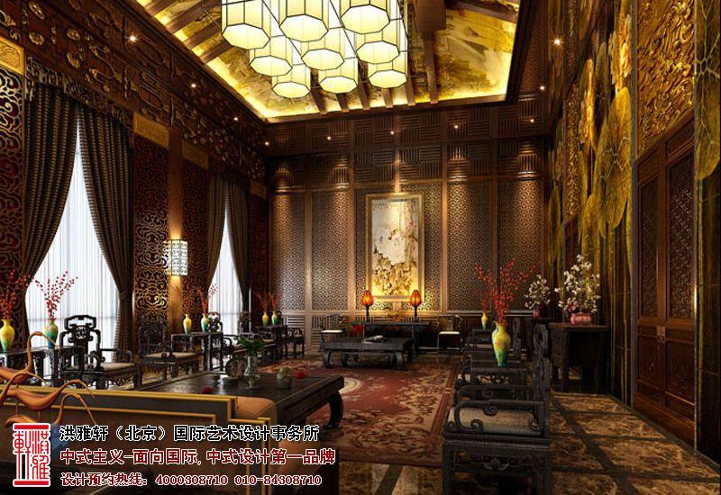 中式四合院装修,宁静典雅不失庄严 中国室内设计与装饰网