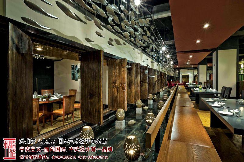 餐厅中式设计效果图