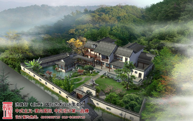中式装修围墙风水