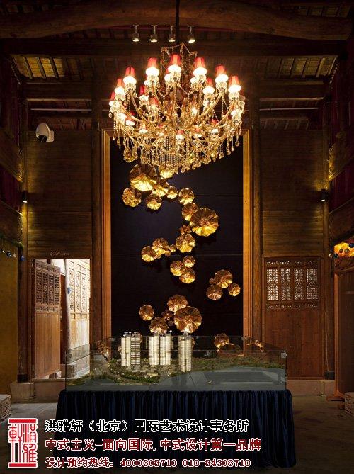 中式售楼处设计
