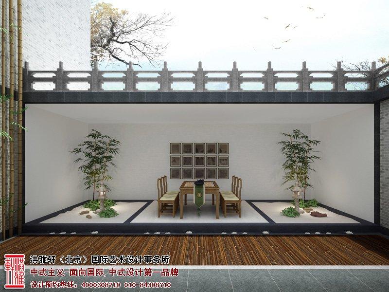 别墅中式装修风格