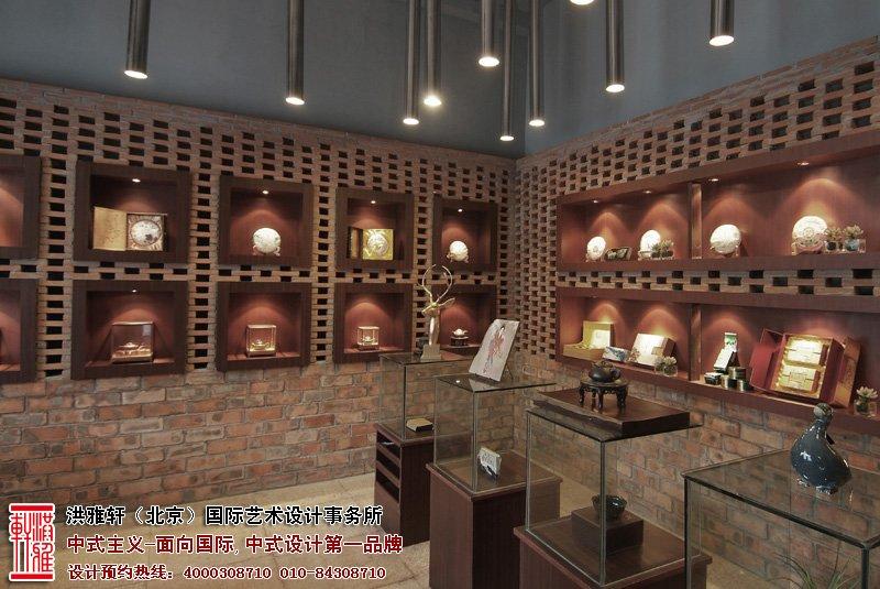店面展厅中式装修