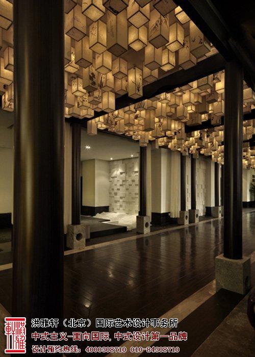 中式風格的展廳設計,高檔大氣雅意非凡