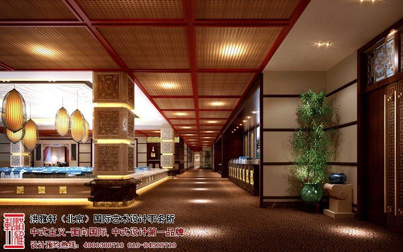 邯郸售楼处大厅中式装修图片