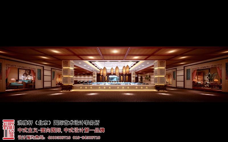 售楼处大厅中式装修图片
