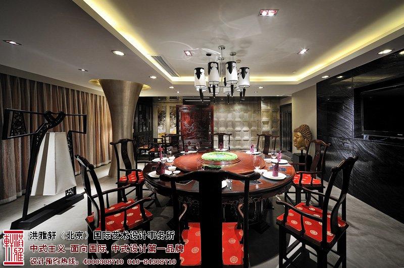 酒店餐厅中式设计效果图