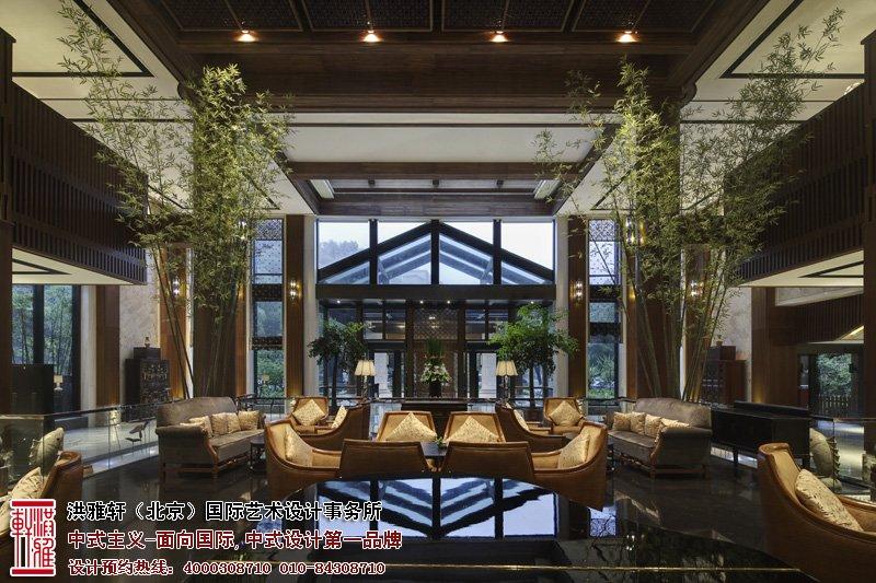 酒店宾馆大厅设计效果图