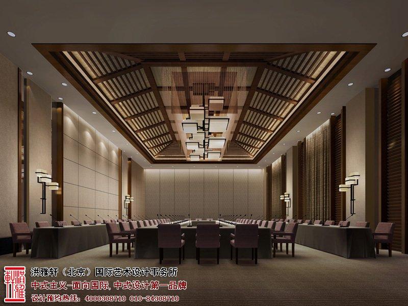 酒店中式设计效果图