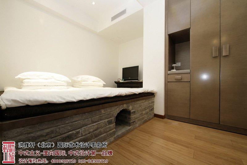 酒店中式装修卧室图