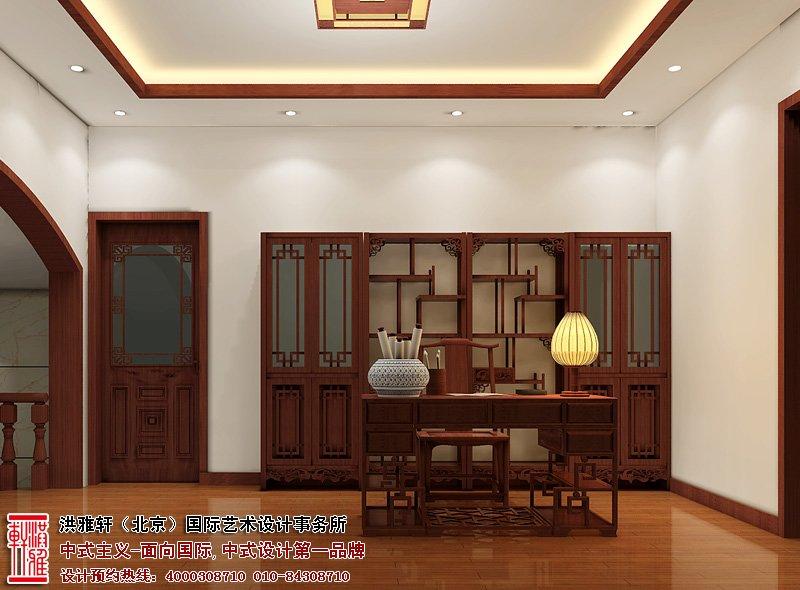 盐城别墅古典中式装修风格