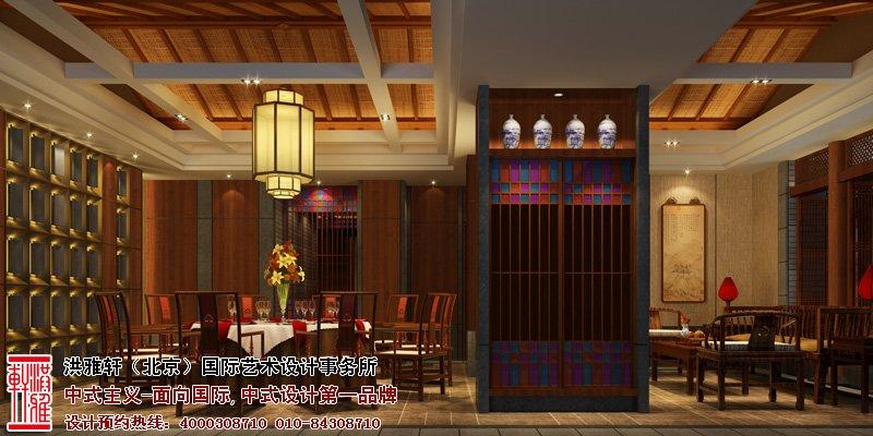 郑州酒店餐厅中式设计包房图