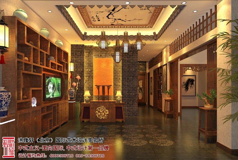 漯河茶楼中式装修图片