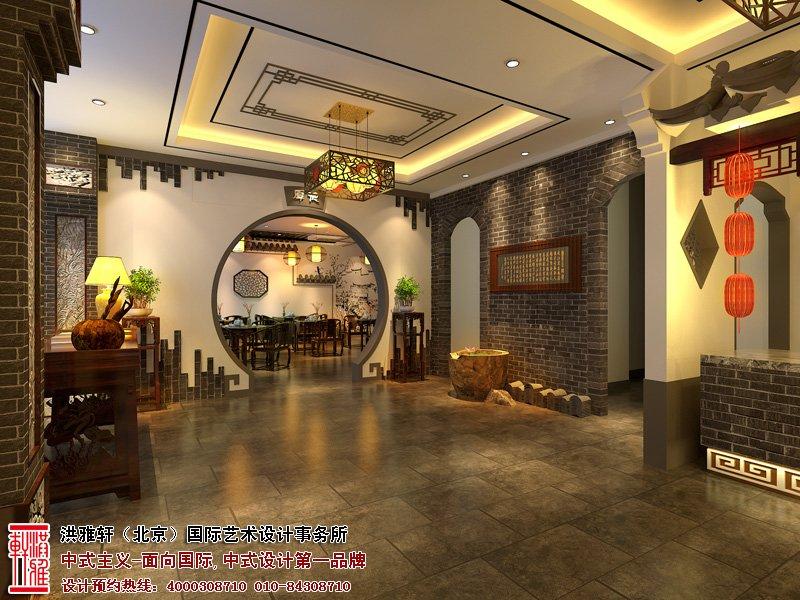 酒店中式装修图片