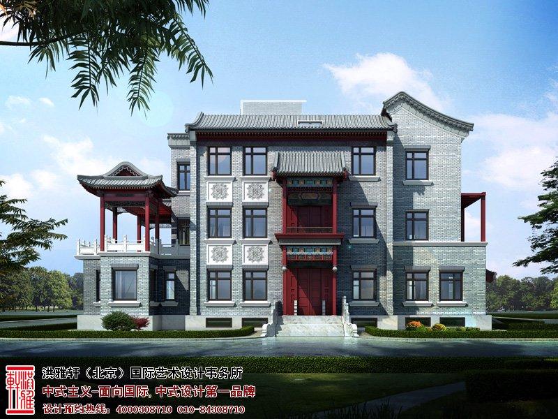 中华百园自建别墅设计图片