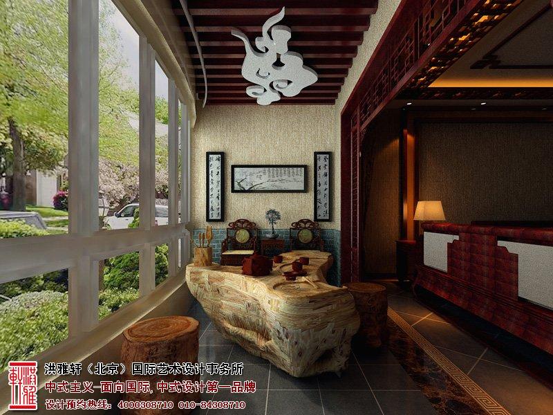 古典中式装修并不是完全意义上的复古,或者是古典元素的堆砌,而是利用现代艺术风格,对古典家居进行合理的搭配和布局。让古典文化意境之美和现代的艺术装饰互相结合。造就一种传统风气和现代时尚并存的局面。而这种优雅的室内装饰艺术,更是贵气逼人,奢华庄重。   本套古典中式装修设计案例上,设计师大量使用了古色古香的红木家具,利用这种红木家具色彩去彰显古典家居的气质和雅意,当然,设计师根据整体房间的布局,搭配上一些优雅简约的黄色、绿色,以及红色等等的颜色进行合理的协调,不仅完美的烘托出整个家居的氛围,还利用了这种古朴的