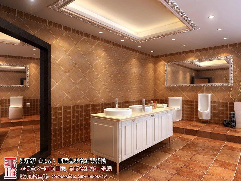 卫生间中式装修图片