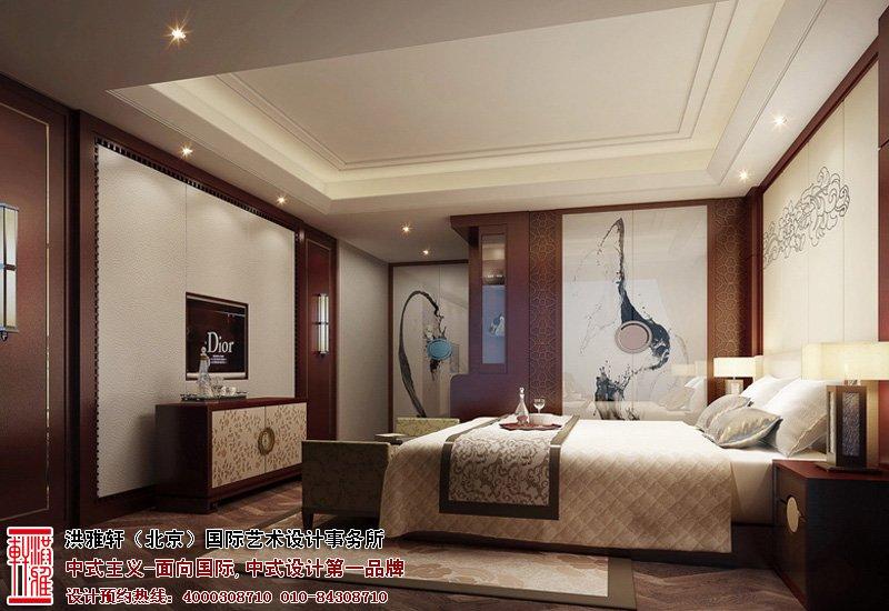 北京湾别墅卧室设计图片