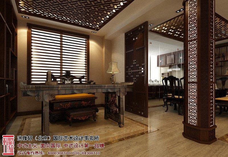 北京湾别墅书房装修图片