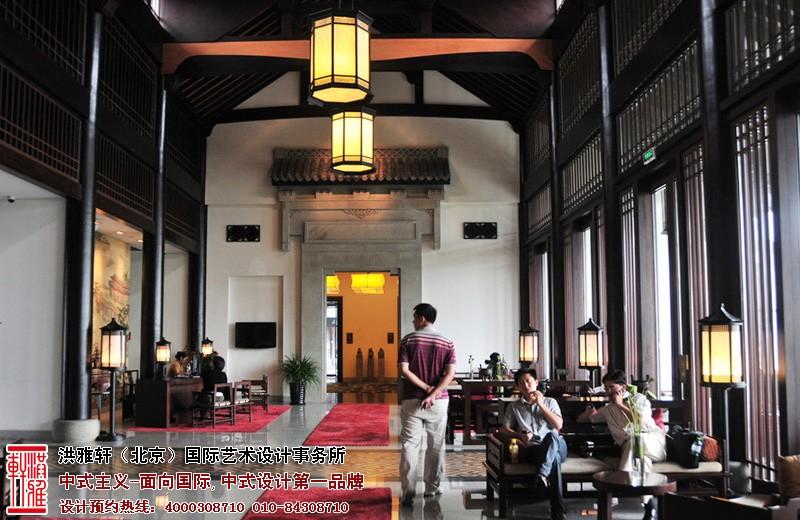 酒店大厅中式设计图片