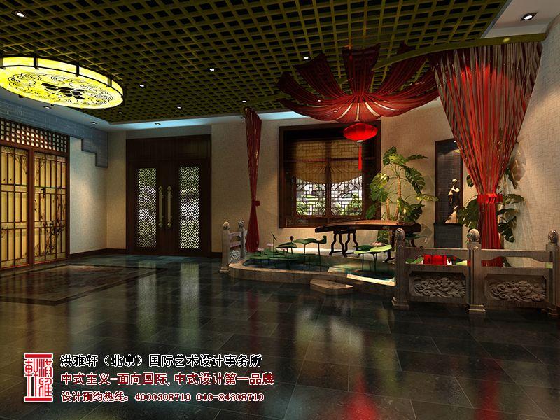 北京亚运村茶楼装修效果图