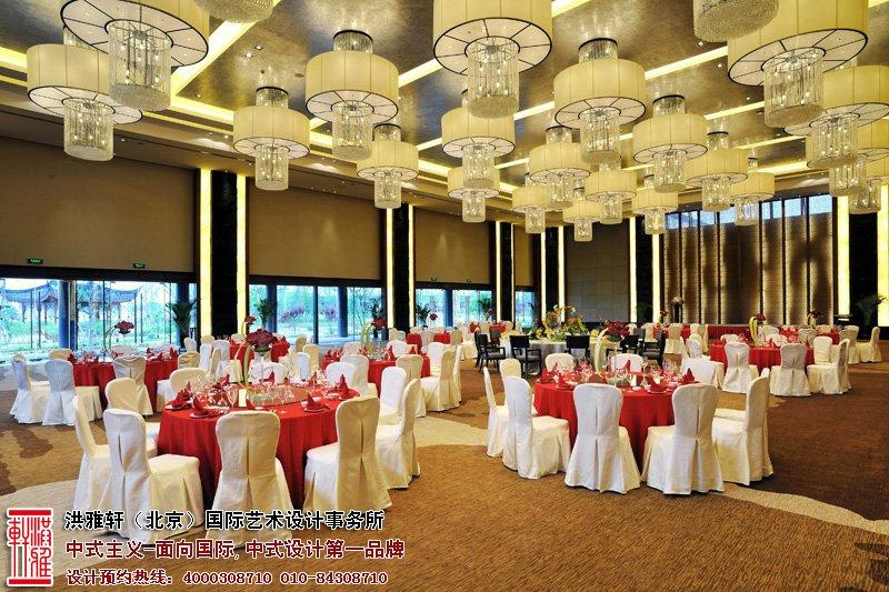 酒店餐厅中式装修图片
