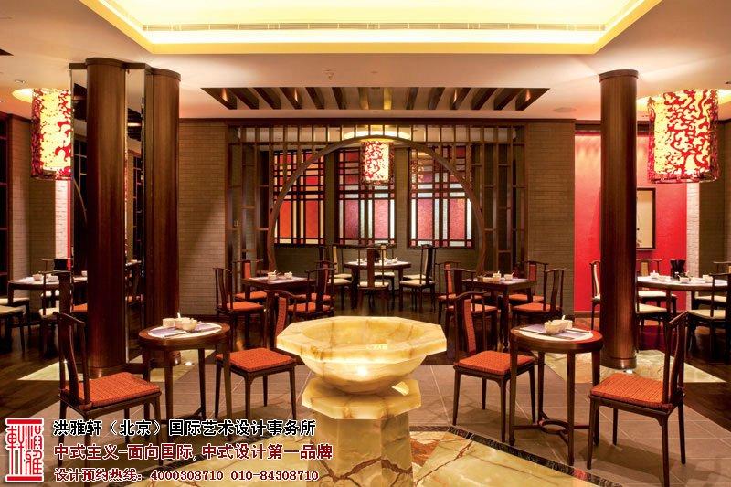 餐厅中式装修图片