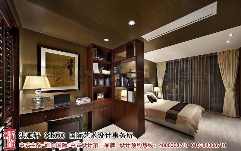卧室别墅中式装修图片
