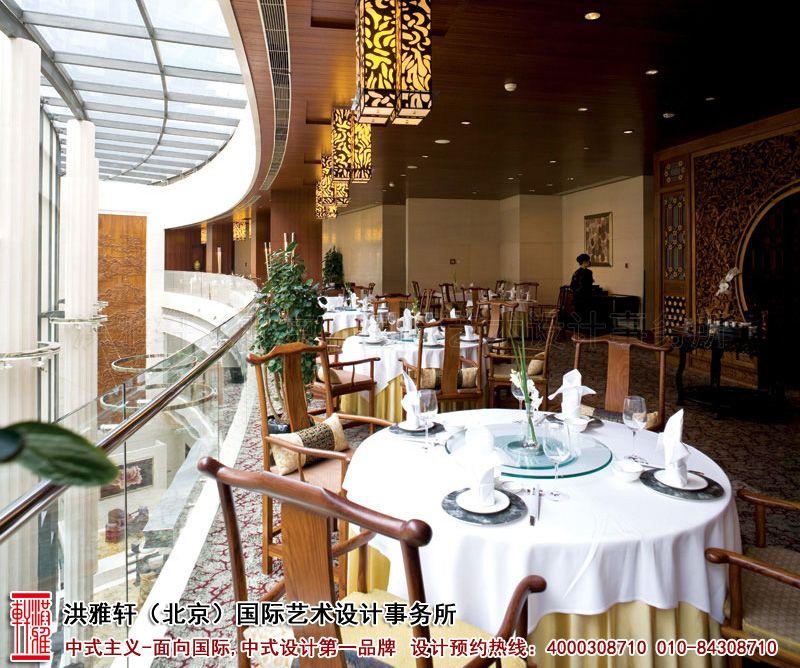 酒店餐厅中式装修效果图