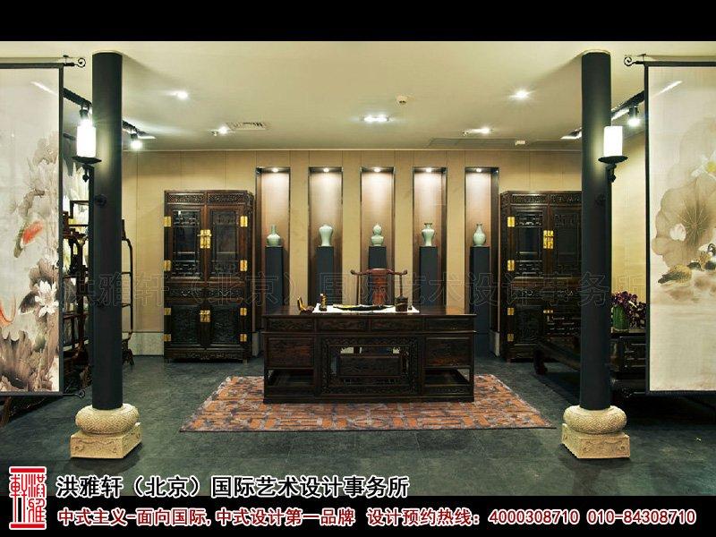 展厅书房中式装修图片