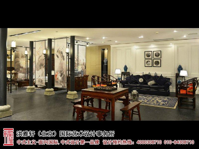 展厅茶室中式装修图片
