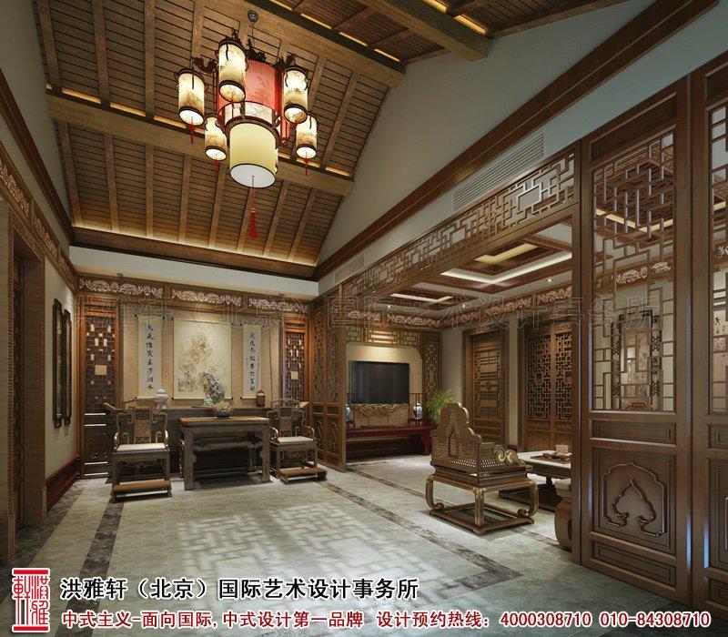 四合院中堂中式装修图片