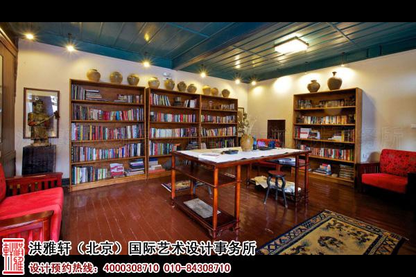 客栈书房设计图