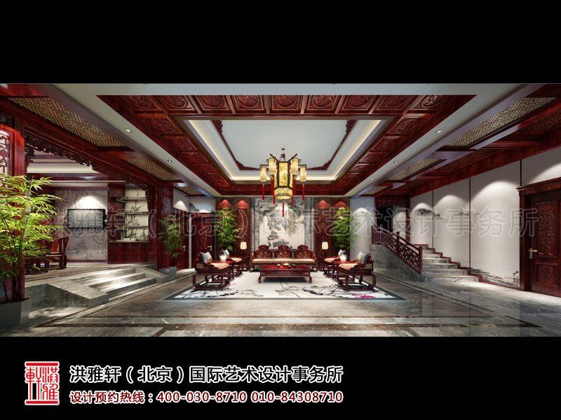 客厅古典中式装修设计效果图片
